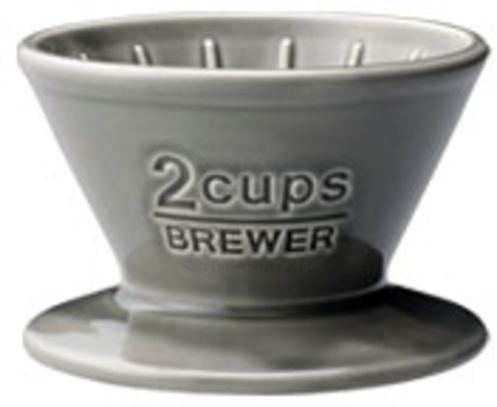 Kinto SCS-02-BR 2cups gray